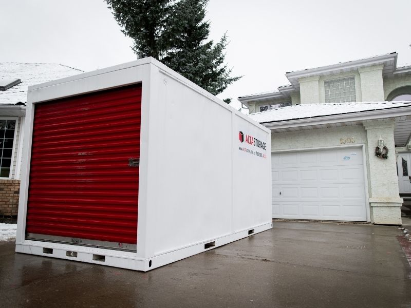 Storage Containers For Moving Edmonton | ALTA MOVING